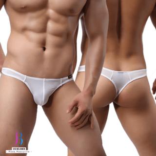 ebdbbab2e Comprar Cuecas e sungas em Belkmen moda masculina  Branco