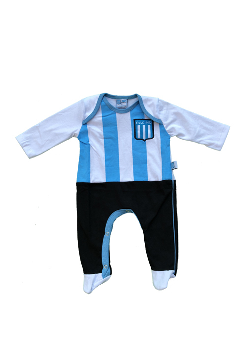 ENTERITO BEBE CAMISETA RACING