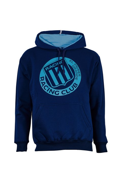 BUZO ESTAMPADO RACING OFERTA 10%