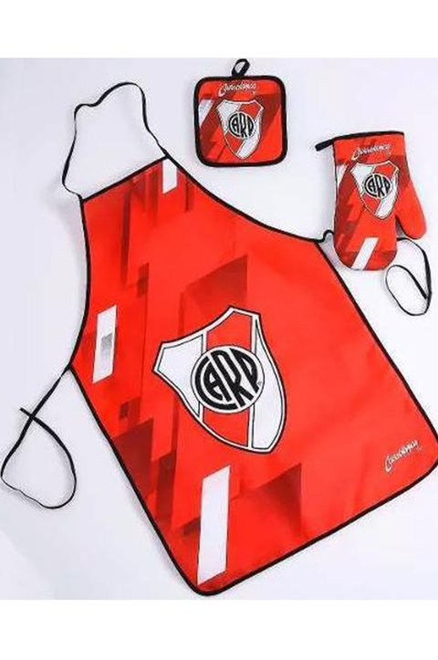 SET AGARRADERA Y DELANTAL RIVER