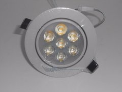 Kit C/10 Spots Downlight Led 7w Branco Quente Marca Ctb - comprar online