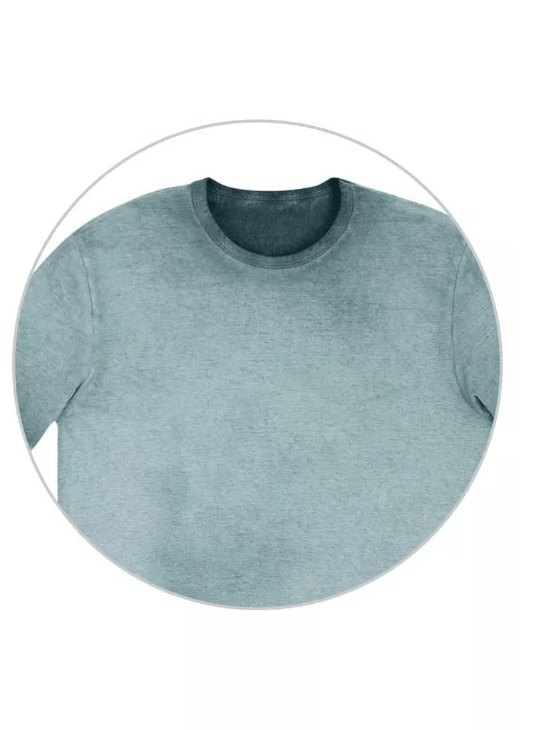 Camiseta Masculina Slim com Técnica de Lavanderia Diferenciada Hering b1ccad8dc233f