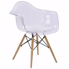 Sillon Eames Color Transparente (acrilico) - Furnitech