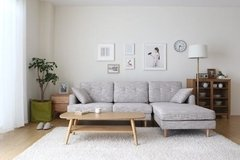 Sofa Cama Living Gris Tela 3 Cuerpos Ds-103  High Quality