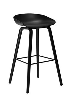 Banqueta Bar Stool All Black WB03
