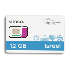 PLAN ISRAEL 12 GB
