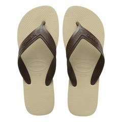 Chinelo Havaianas Top Max Cf Areia/cafe