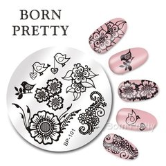 Placa Born Pretty R 101