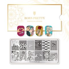 Placa Born Pretty  Valentine 05