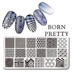 Placa Born Pretty  L 40