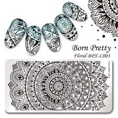 Placa Born Pretty  XL 003