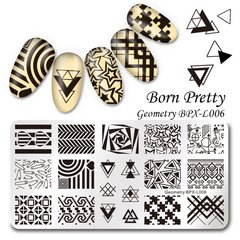 Placa Born Pretty  XL 006
