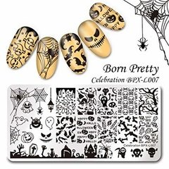 Placa Born Pretty  XL 007