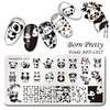 Placa Born Pretty  XL 015