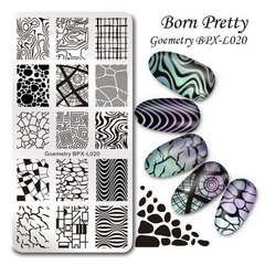 Placa Born Pretty  XL 020