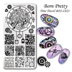 Placa Born Pretty  XL 023