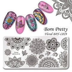Placa Born Pretty  XL 019