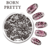 Placa Born Pretty  R 103