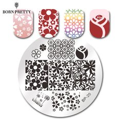 Placa Born Pretty R 20