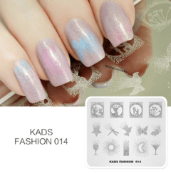 Placa Kads Fashion 014