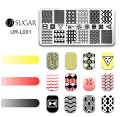 Placa UR- Sugar L 001