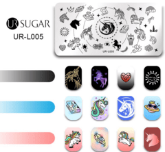 Placa UR- Sugar L 005