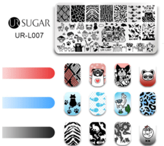 Placa UR- Sugar L 007