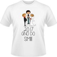 Camisa Personalizada Noivos 2017 2 Unidades