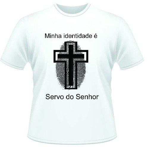 fe7b7d0e5 Camisa Evangélica Cristã Gospel Bíblia Minha Identidade Fra