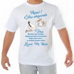 Camisa Camisa Chá De Revelação Bebe