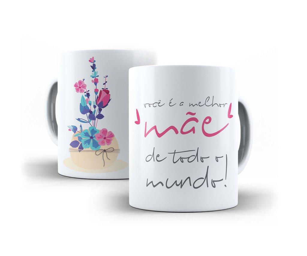 Presente Caneca Personalizada Dia Das Mães Frases