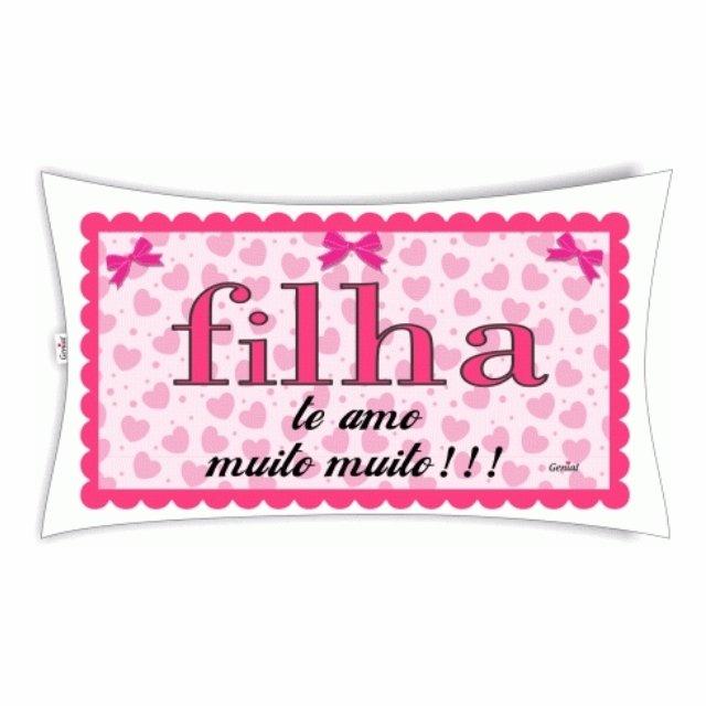 7fe93d0bba7ff0 Almofada Filha Te Amo Muito