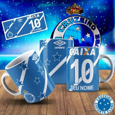 802d058f00 Caneca Personalizada Cruzeiro - Com seu Nome