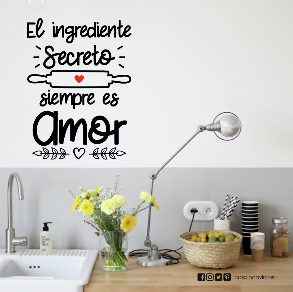El ingrediente secreto Pared Adhesivo