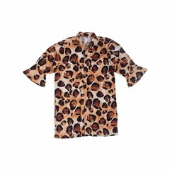 ANIMAL PRINT CHEMISE - JAGUAR