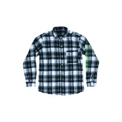 GRUNGE LONG SLEEVE - GREEN