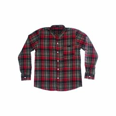 GRUNGE LONG SLEEVE - RED