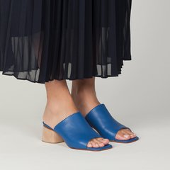 Mule Ave - Blue - Mancuso Zapatos