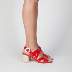Flor Sandals - Red - buy online