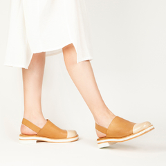 Slip On Paz - Camel - Mancuso Zapatos