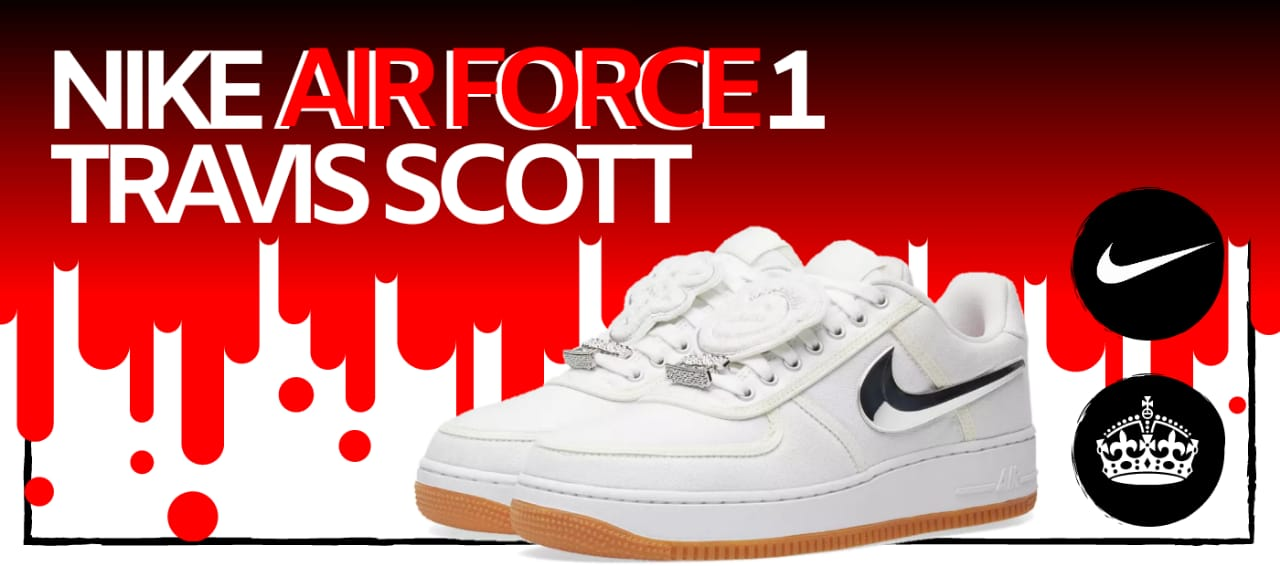 TÊNIS NIKE AIR FORCE 1 LOW OFF WHITE MCA Ribshoes