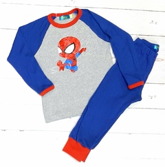 pijama interlock spiderman