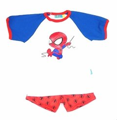 conjunto /pijama spiderman