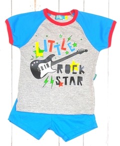 pijama varòn Rock star