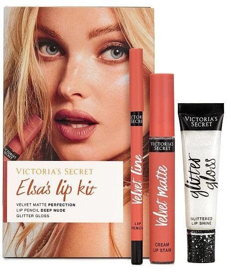 b05696a0de6a6 Set Labial Victoria's Secret - Elsa's Lip Kit - 002