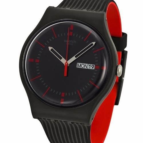 a311e93771eb Reloj Swatch Suob714 Gaet Black 100% Suizo Envio Gratis