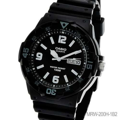 031ff2065933 Reloj Casio Mrw-200h Sports Water 100m Wr Aro Biselado Gtia