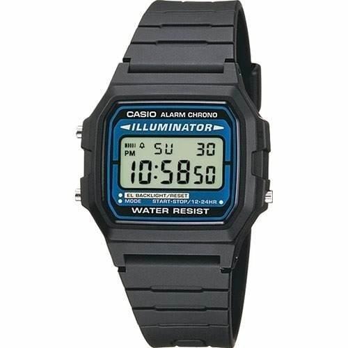 0c6ed830a36e Reloj Casio F-105w Illuminator Crono Alarma Retro Vintage