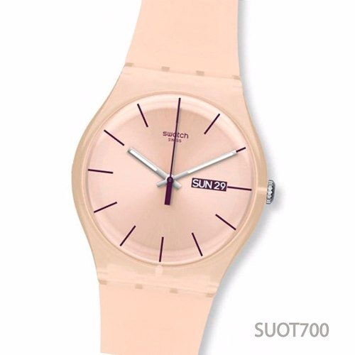 Reloj Swatch New Gent Rebel 30m Wr 100% Suizo Silicona