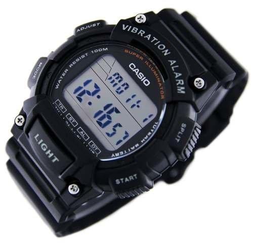 Illuminator Super Casio 736h Reloj 100m W Alarma Vibratoria 2eHIYW9bED